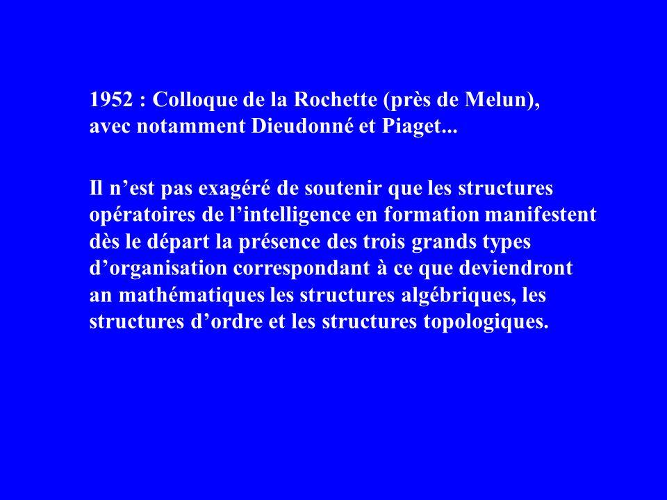 janvier 1968 : Charte de Chambéry (APMEP) Pourquoi lenseignement des mathématiques doit-il être réformé « de la maternelle aux facultés » .