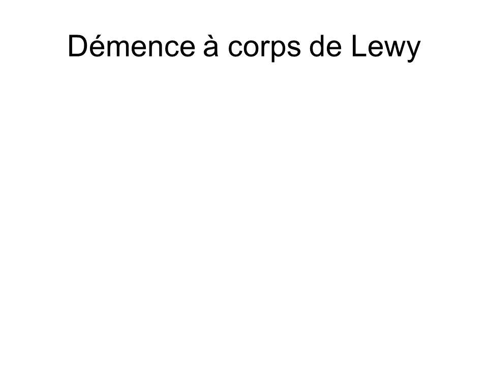 Démence à corps de Lewy