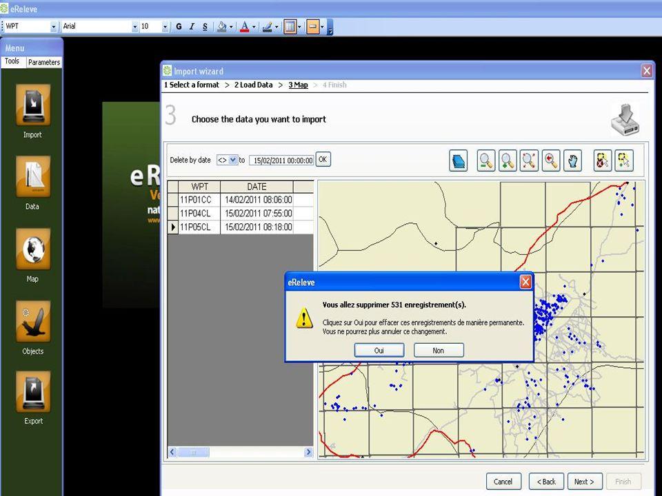 La field activity est indispensable à certaines requêtes et exports, ainsi quà lanalyse des données Cochée par défaut pour saisir les stations suite à limport