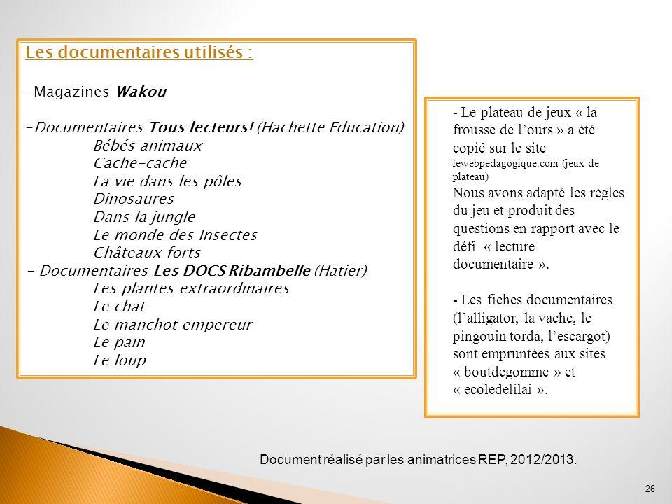 - Le plateau de jeux « la frousse de lours » a été copié sur le site lewebpedagogique.com (jeux de plateau) Nous avons adapté les règles du jeu et pro