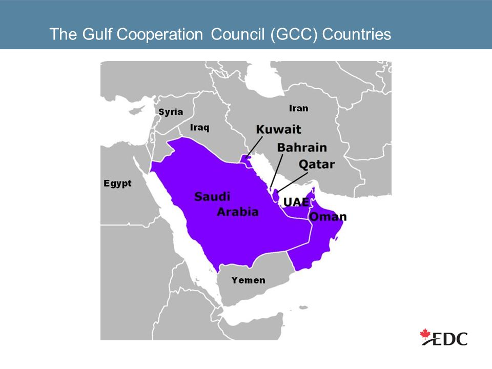 The Gulf Cooperation Council (GCC) Countries