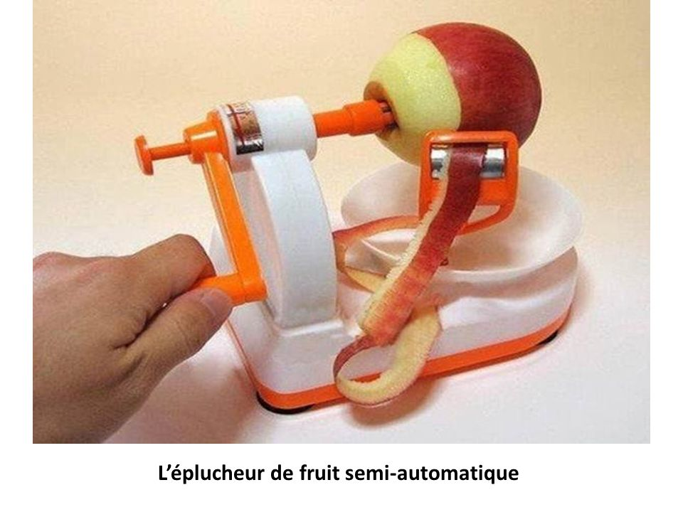 Léplucheur de fruit semi-automatique