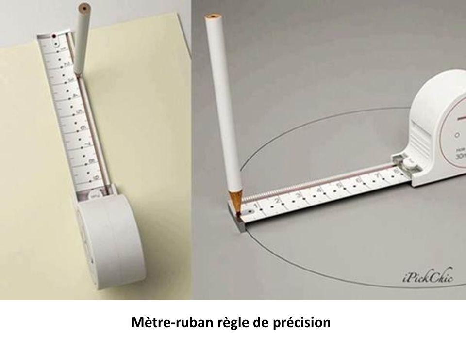 Mètre-ruban règle de précision
