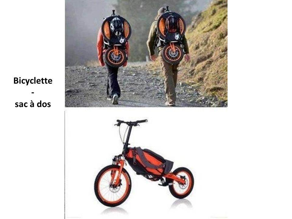 Bicyclette - sac à dos
