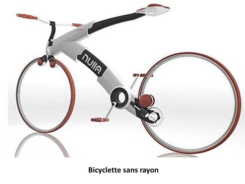 Bicyclette sans rayon