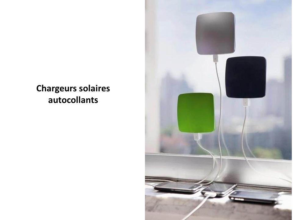 Chargeurs solaires autocollants