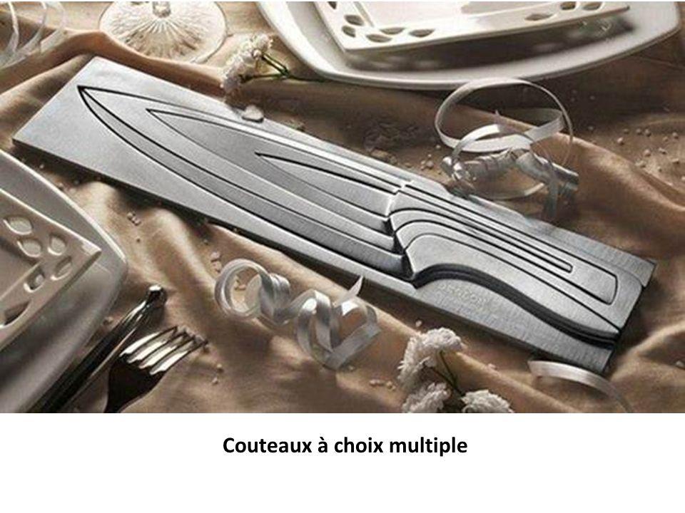 Couteaux à choix multiple