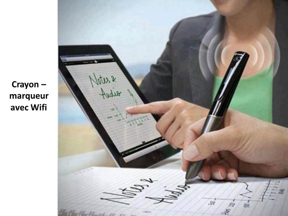 Crayon – marqueur avec Wifi
