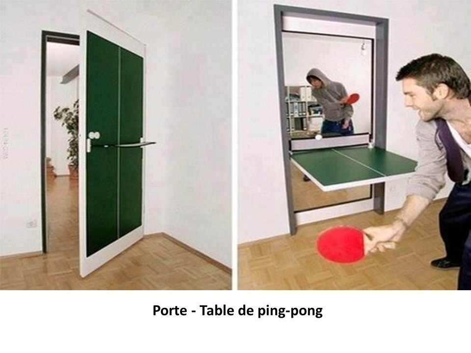 Porte - Table de ping-pong