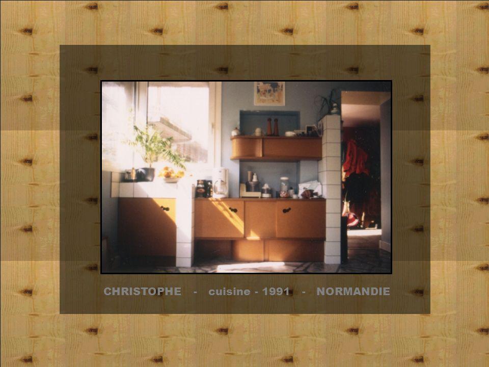 CHRISTOPHE - cuisine - 1991 - NORMANDIE