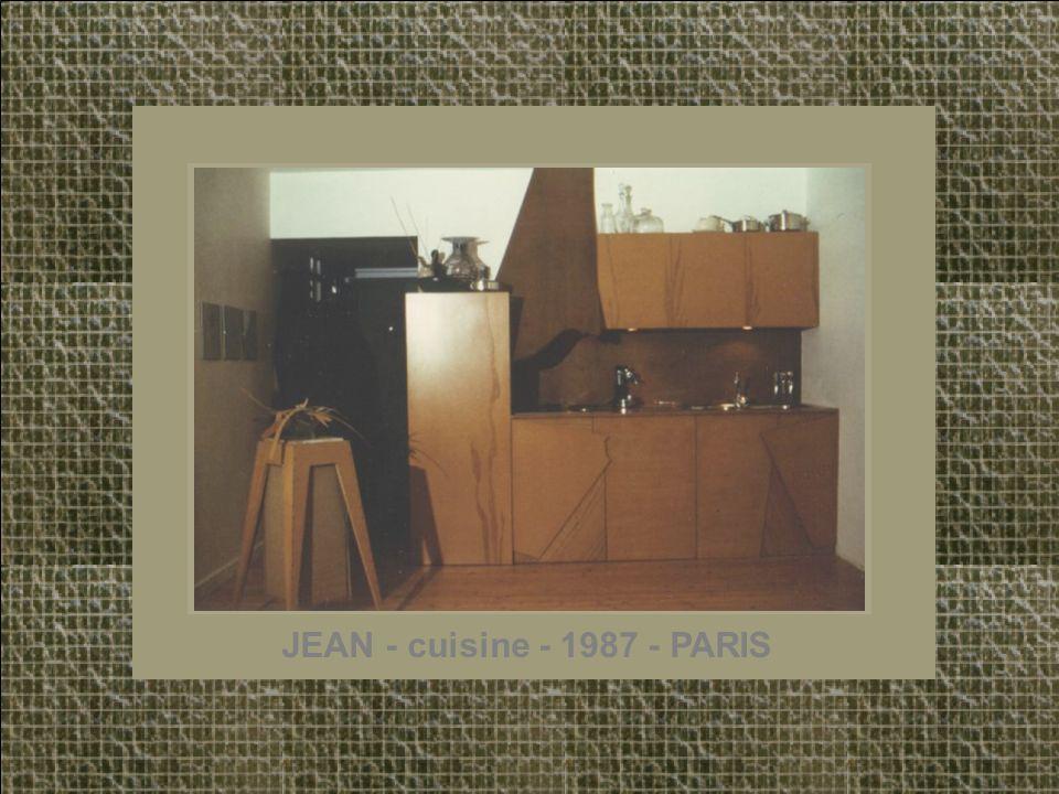 JEAN - cuisine - 1987 - PARIS