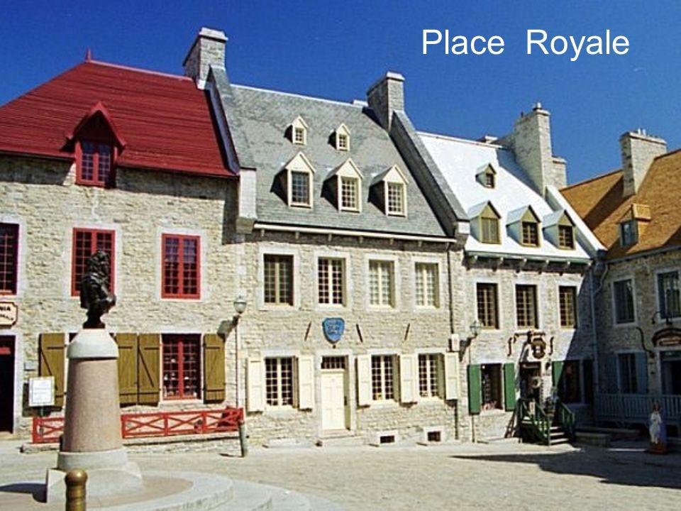 Pendant près de 150 ans, la ville de Québec fut le berceau de la Nouvelle-France.