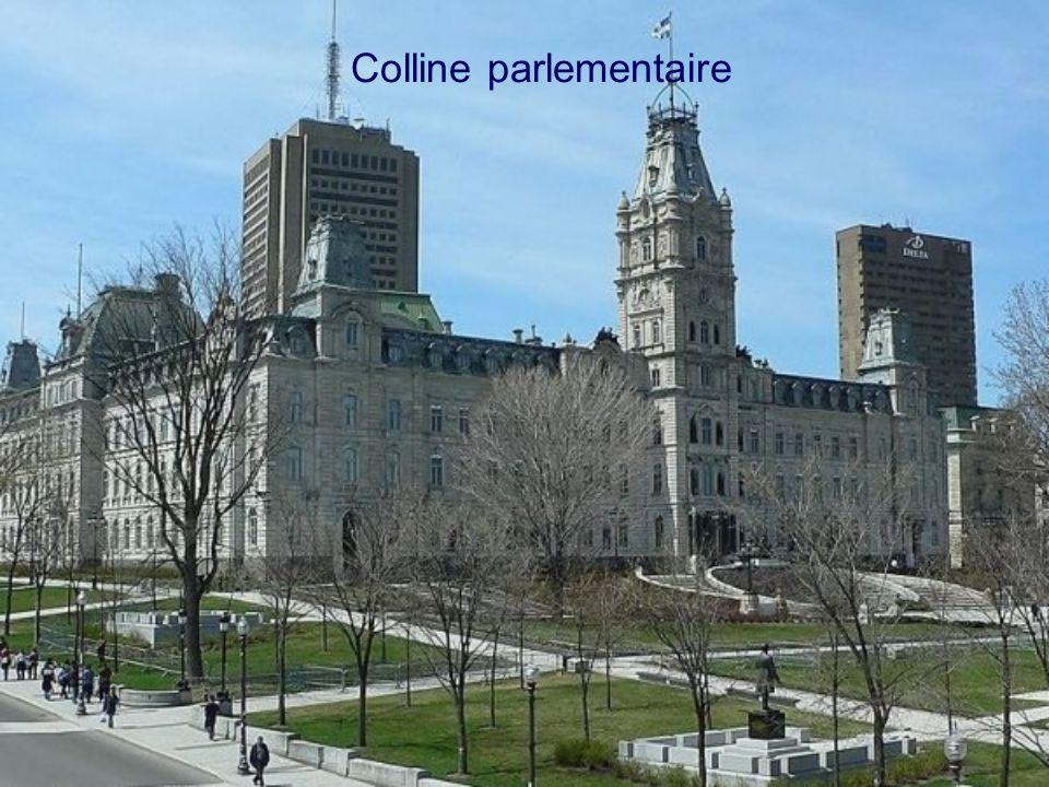Québec sous un clair de lune