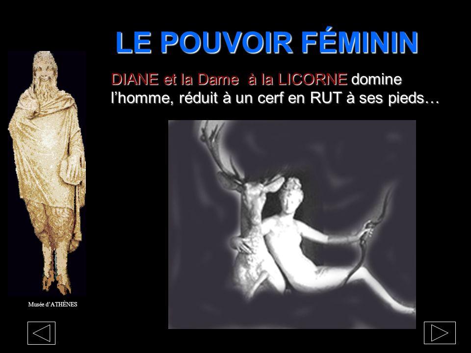 La PANIQUE La déesse DIANEa fui les hommes au fond des bois La déesse DIANE a fui les hommes au fond des bois. Musée dATHÈNES Dr Henry Thomas