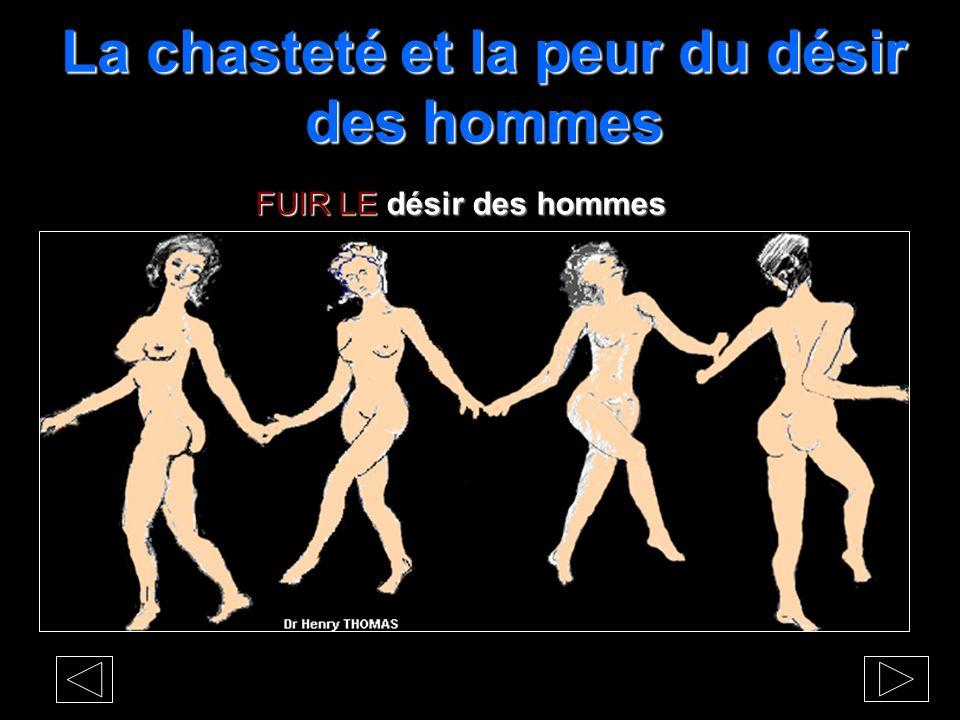 La PANIQUE et la chasteté DIANE et les adolescentes, les nymphes adeptes de la chasteté dansent LE REJET des hommes et la LIBERTÉ féminine.