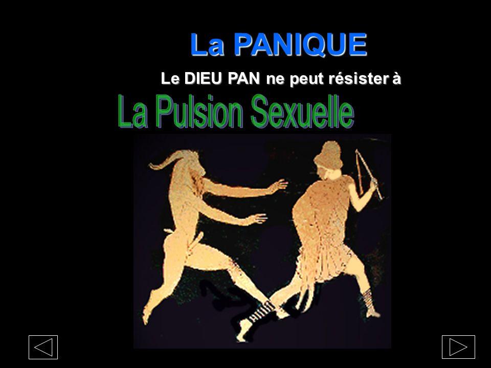 La PANIQUE Les nymphes et la sexualité masculine Dr Henry Thomas