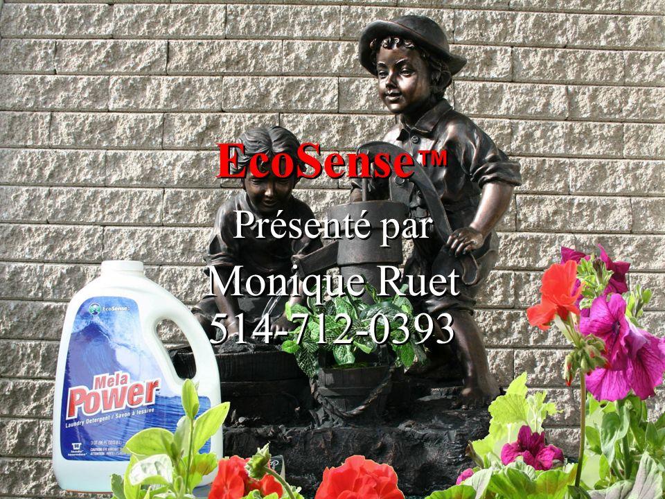 EcoSense Présenté par Monique Ruet 514-712-0393 Présenté par Monique Ruet 514-712-0393