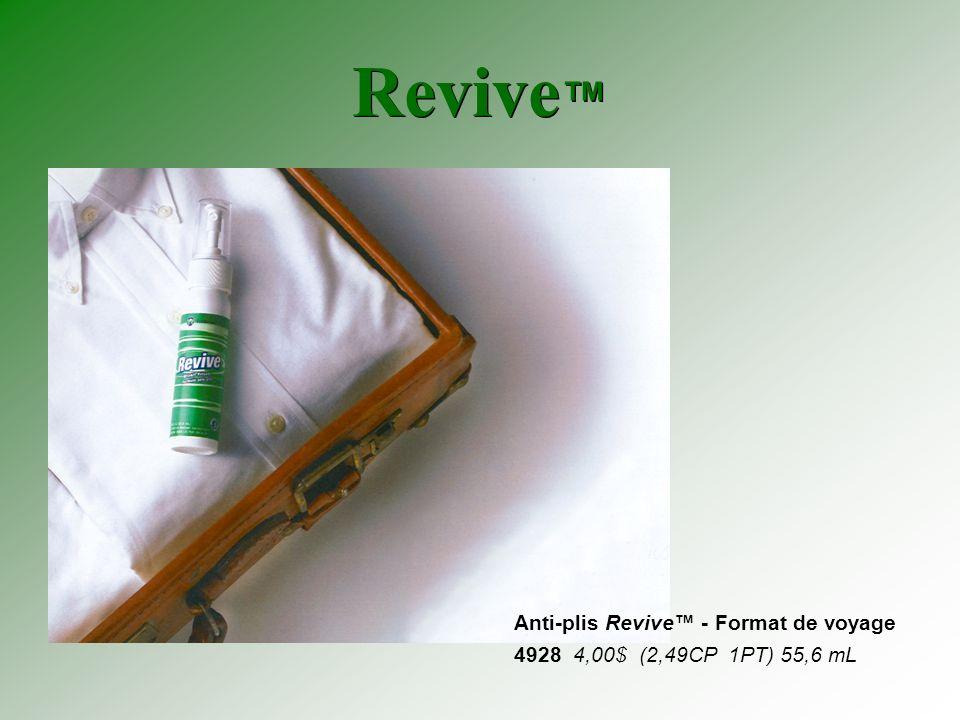 Revive Anti-plis Revive - Format de voyage 4928 4,00$ (2,49CP 1PT) 55,6 mL
