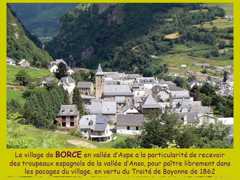 La Vallée dAspe dans les Pyrénées Atlantiques marque la frontière avec la vallée de lAragon en Espagne. Elle a été longtemps le refuge de lours des Py