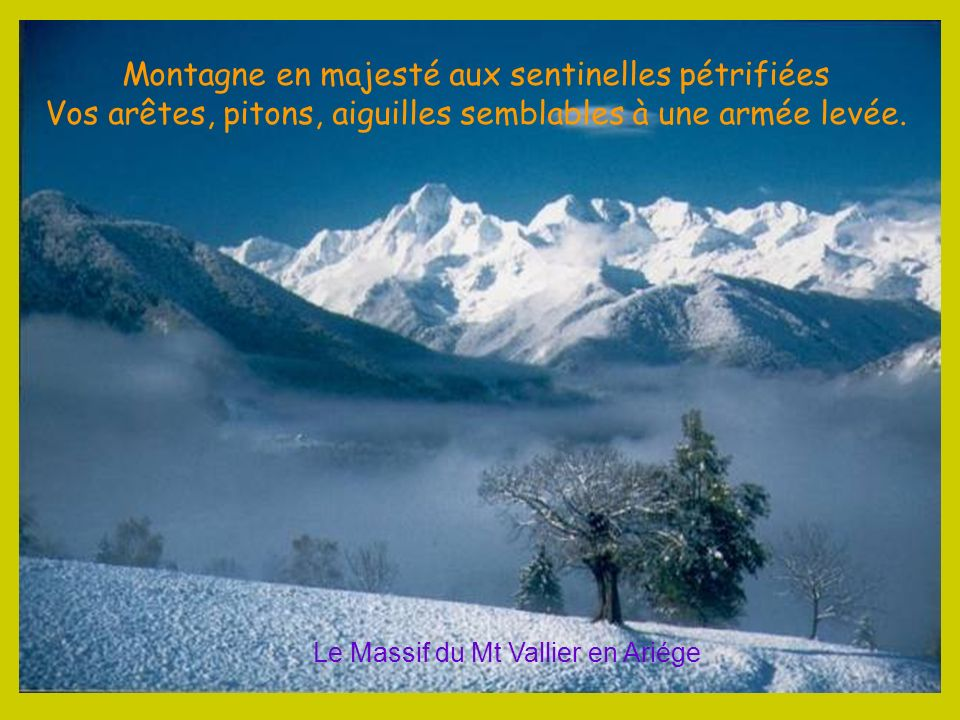 Entre Ariège et Catalogne le Massif du Montcalm culmine à 3143 m à la Pique dEstats Montcalm, Pic des Tempêtes, Aiguille dAnsobère A vos pieds se décl