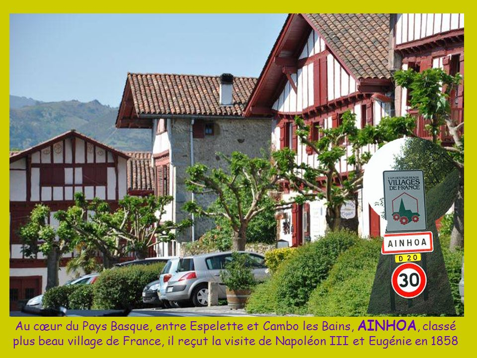 Du haut des 905 m de La Rhune, accessible par le petit train à crémaillère, on domine St Jean de Luz