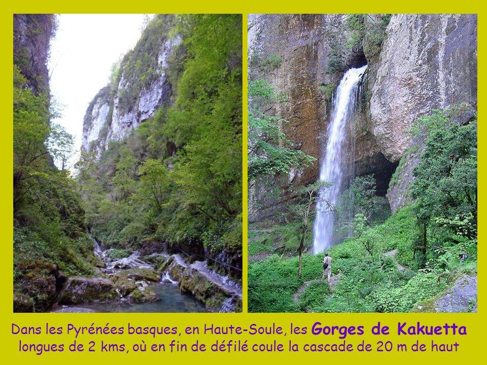Au cœur du Pays Basque, entre Espelette et Cambo les Bains, AINHOA, classé plus beau village de France, il reçut la visite de Napoléon III et Eugénie