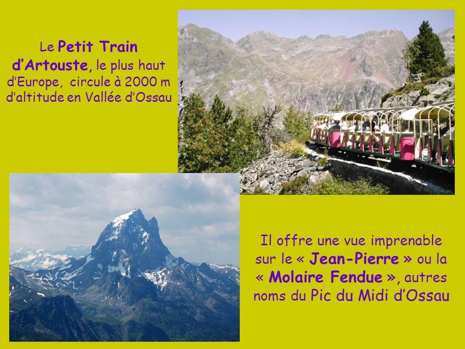 Dans les Pyrénées Atlantiques le Pic du Midi dOssau domine du haut de ses 2 884 m le lac Roumassot. Pic en forme de dent il est lemblème de la ville d