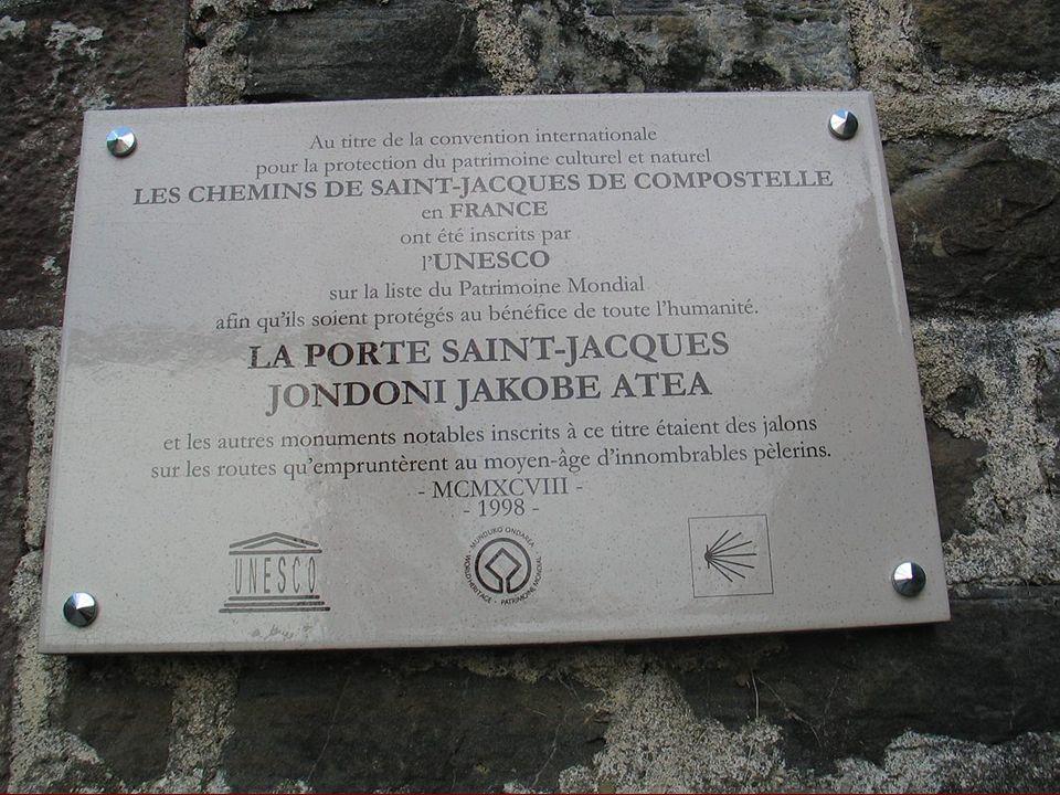 Le Samedi 27/06 notre balade seffectue sur le chemin de St Jacques de Compostelle à St Jean Pied de Port.