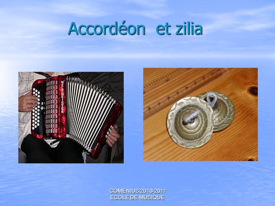 Accordéon et zilia