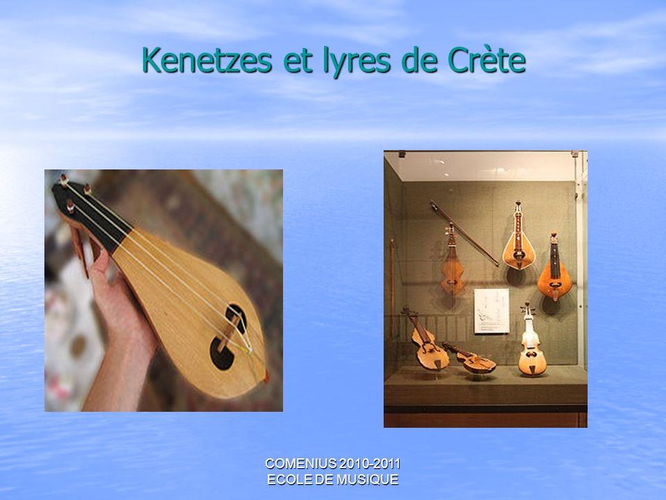COMENIUS 2010-2011 ECOLE DE MUSIQUE Kenetzes et lyres de Crète