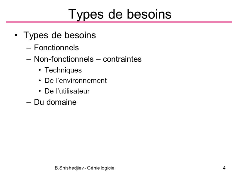 B.Shishedjiev - Génie logiciel45 Exemple LYBSYS Initial assumption: The user has logged on to the LIBSYS system and has located the journal containing the copy of the article.