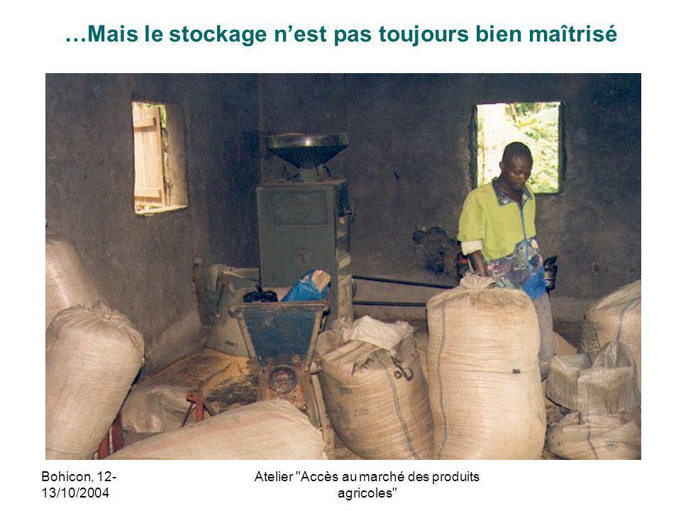 Bohicon, 12- 13/10/2004 Atelier
