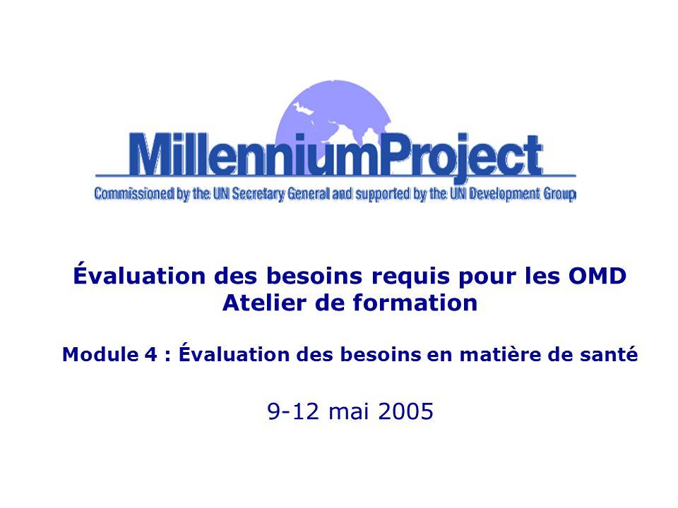 www.unmillenniumproject.org 2 Présenter la méthode suivie par le Projet Objectifs du Millénaire pour réaliser une évaluation des besoins en matière de santé Objet