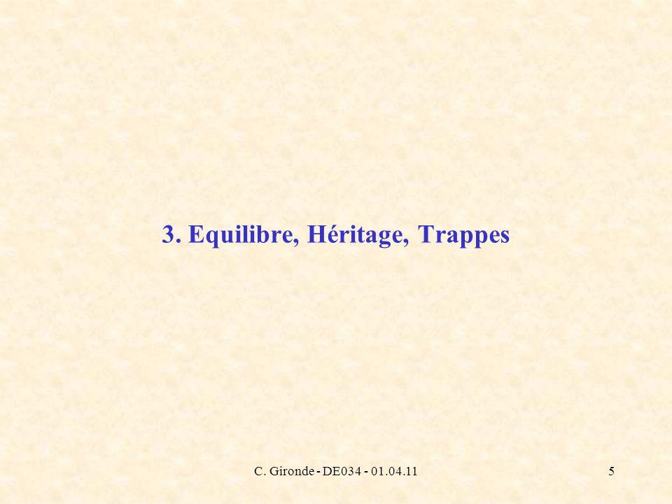 C. Gironde - DE034 - 01.04.115 3. Equilibre, Héritage, Trappes