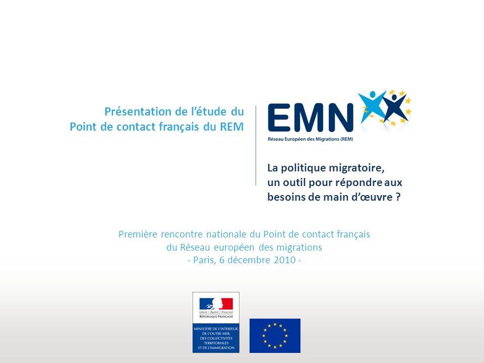 La politique migratoire, un outil pour répondre aux besoins de main dœuvre .