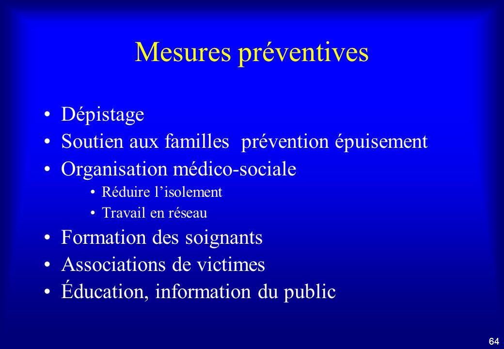 63 Suite et conséquences administratives du signalement