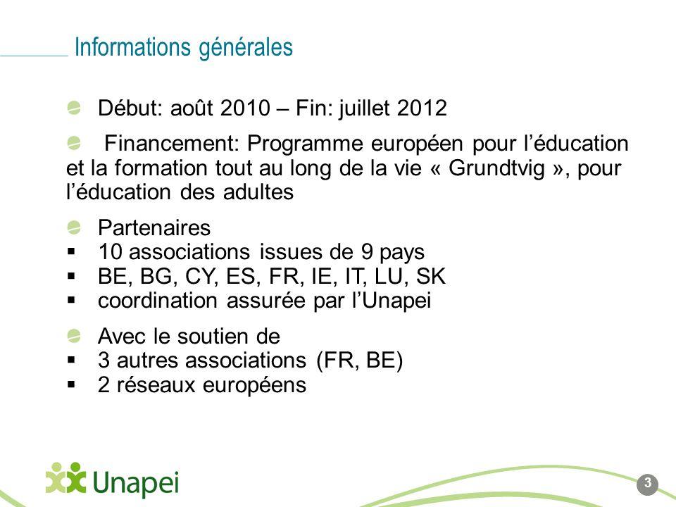 Ligne de base du logo Côté gauche du logo calé sur cette ligne Début: août 2010 – Fin: juillet 2012 Financement: Programme européen pour léducation et