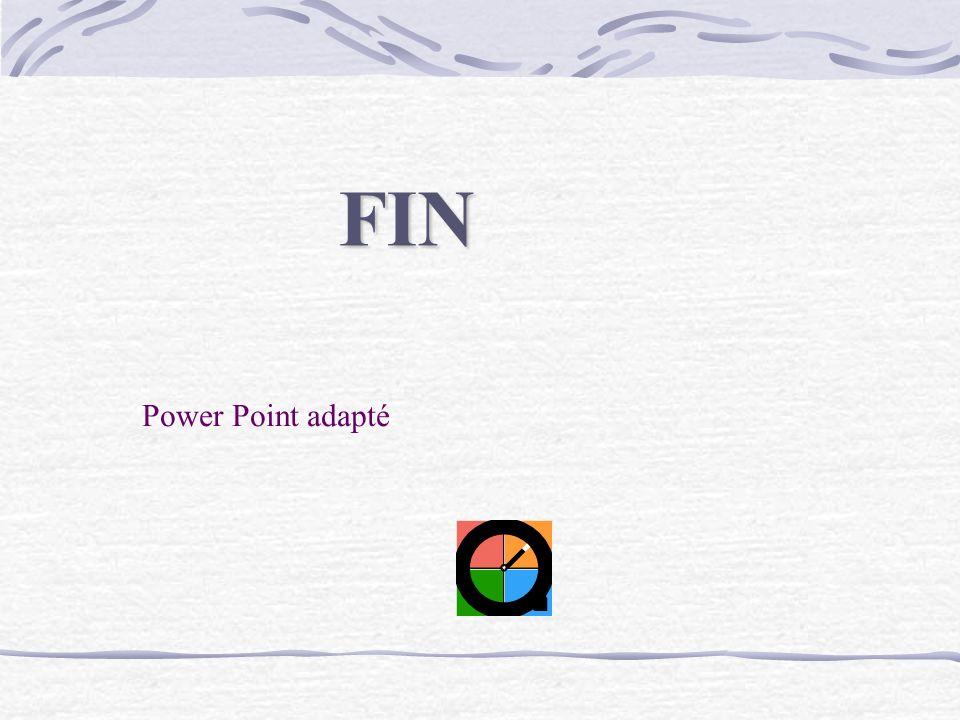FIN Power Point adapté