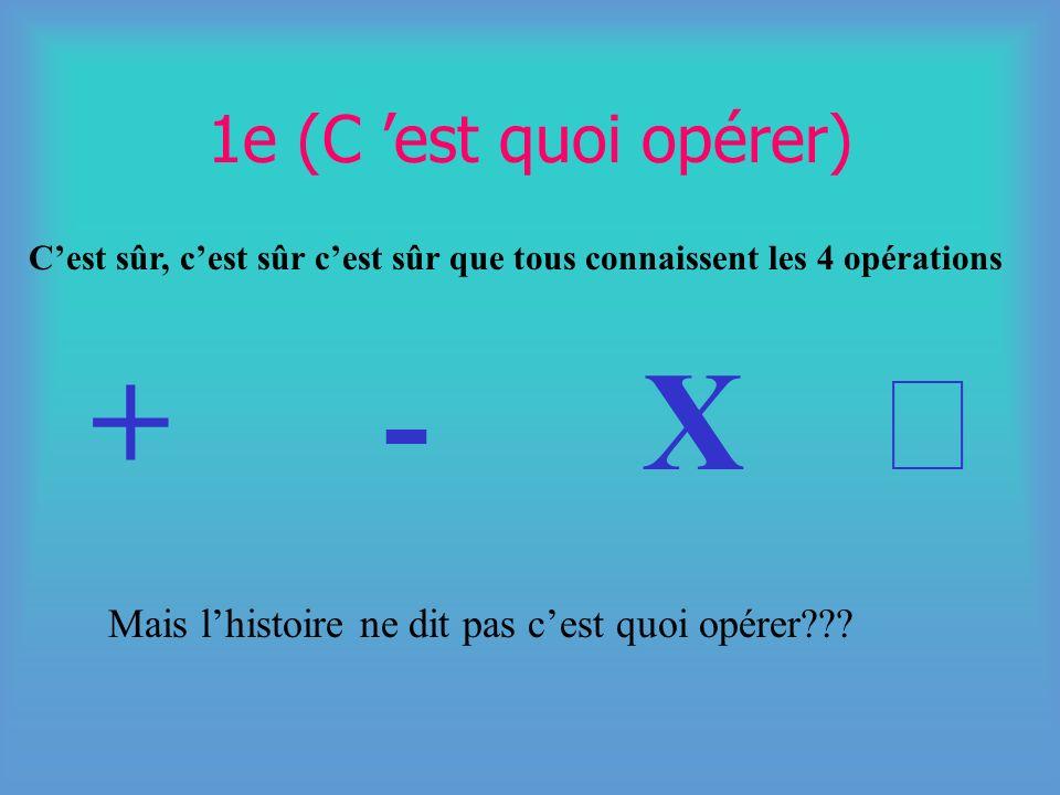 PLAN 1- Cest quoi opérer (définitions des 4 opérations) 2- Les quatre opérations sur les fractions 3-Les différentes sortes de fractions 4-Transformat