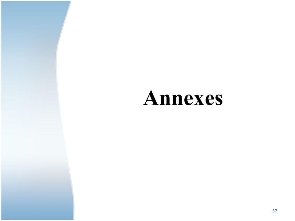 Annexes 37