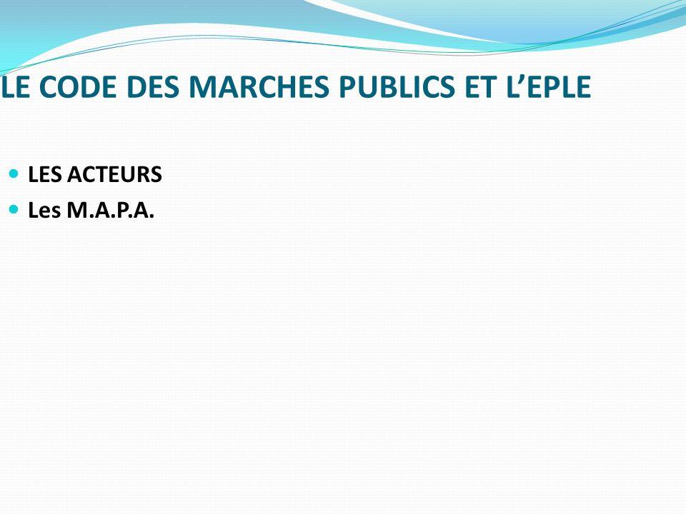 Guide de bonnes pratiques en matière de marchés publics - 10.3.2.1.