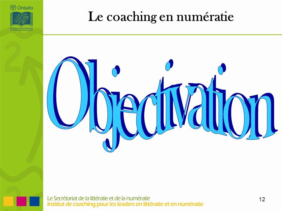 12 Le coaching en numératie