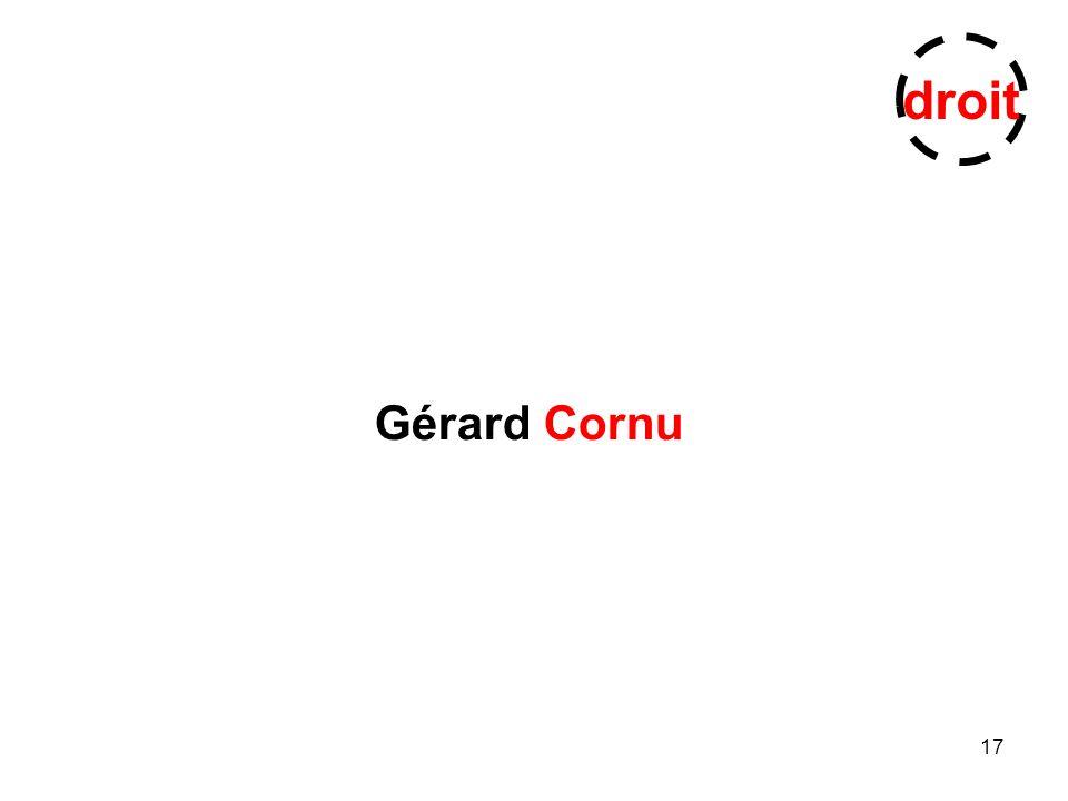 17 Gérard Cornu droit