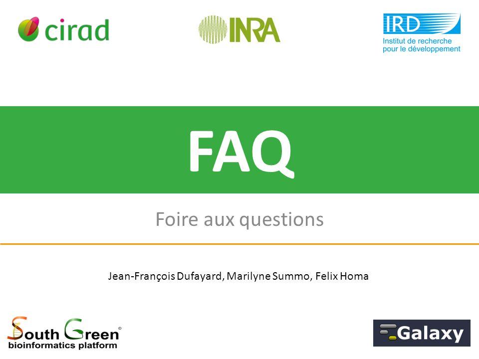 Foire aux questions FAQ Jean-François Dufayard, Marilyne Summo, Felix Homa