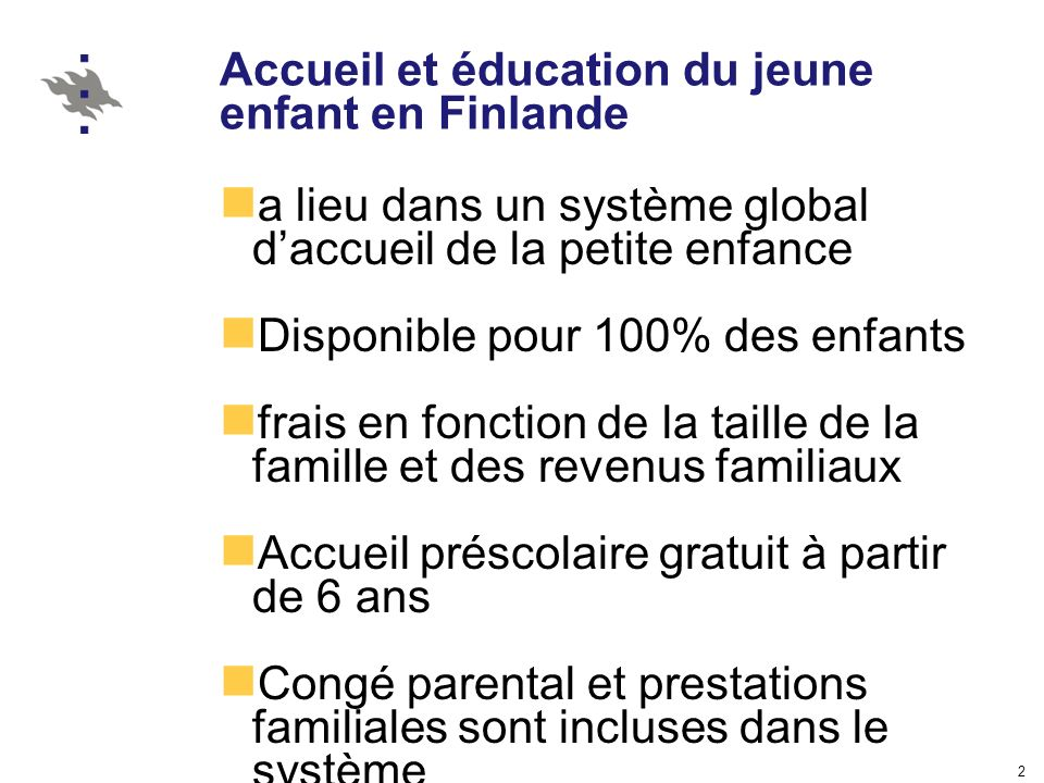 3 Questions préliminaires Pourquoi avons nous besion déducation du jeune enfant dans une société moderne .