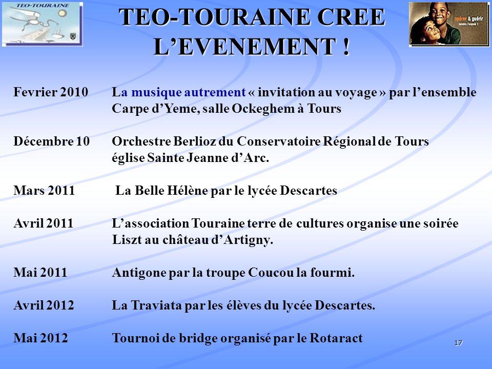 17 TEO-TOURAINE CREE LEVENEMENT .