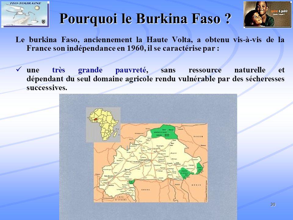 30 Pourquoi le Burkina Faso .