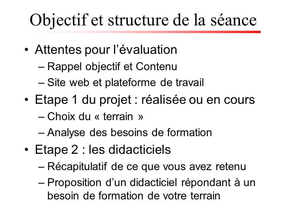 1.Aucune approche nest la panacée Dépend du contexte et des besoins de formation 2.