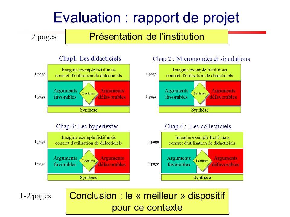 Etape 1 - Description de linstitution et de ses besoins de formation Que fait linstitution .
