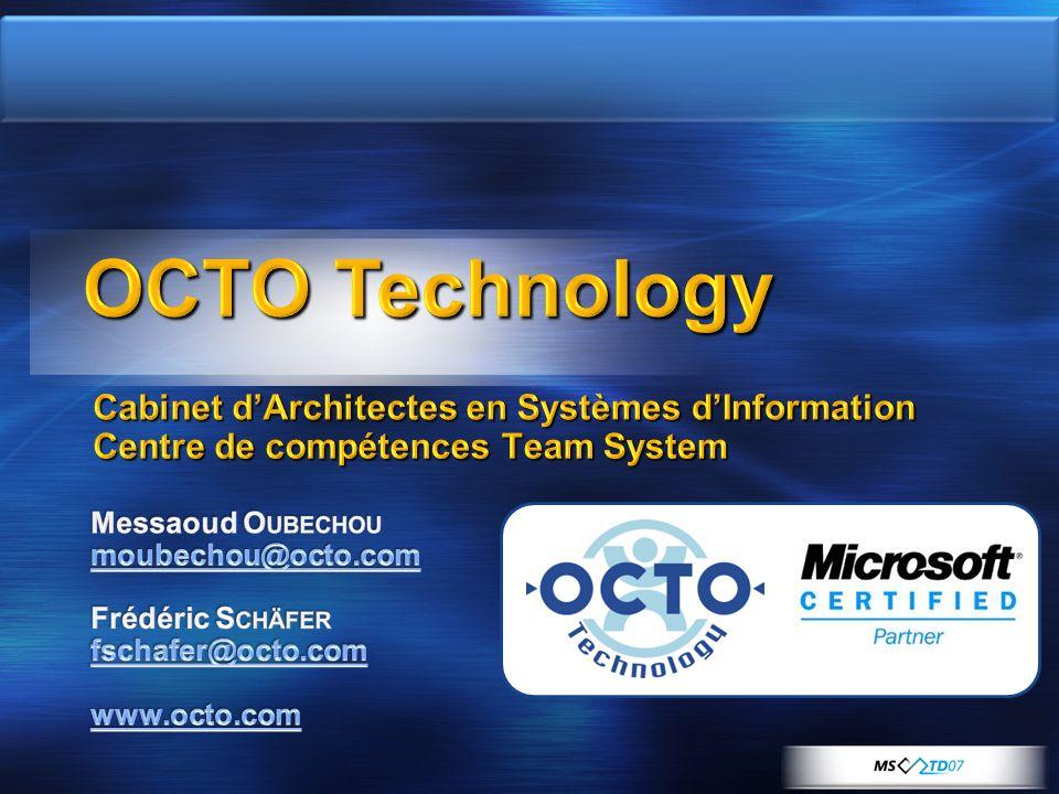 Cabinet dArchitectes en Systèmes dInformation Centre de compétences Team System
